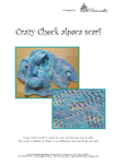 Crazy Check Alpaca scarf
