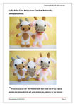 Martha Cow | Free Crochet Patterns